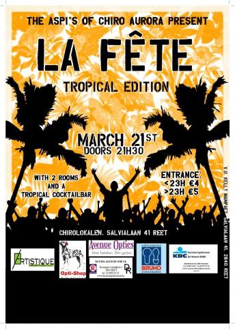 Poster La Fête 15